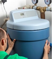 Voorbeeld waterontharder onderhoud
