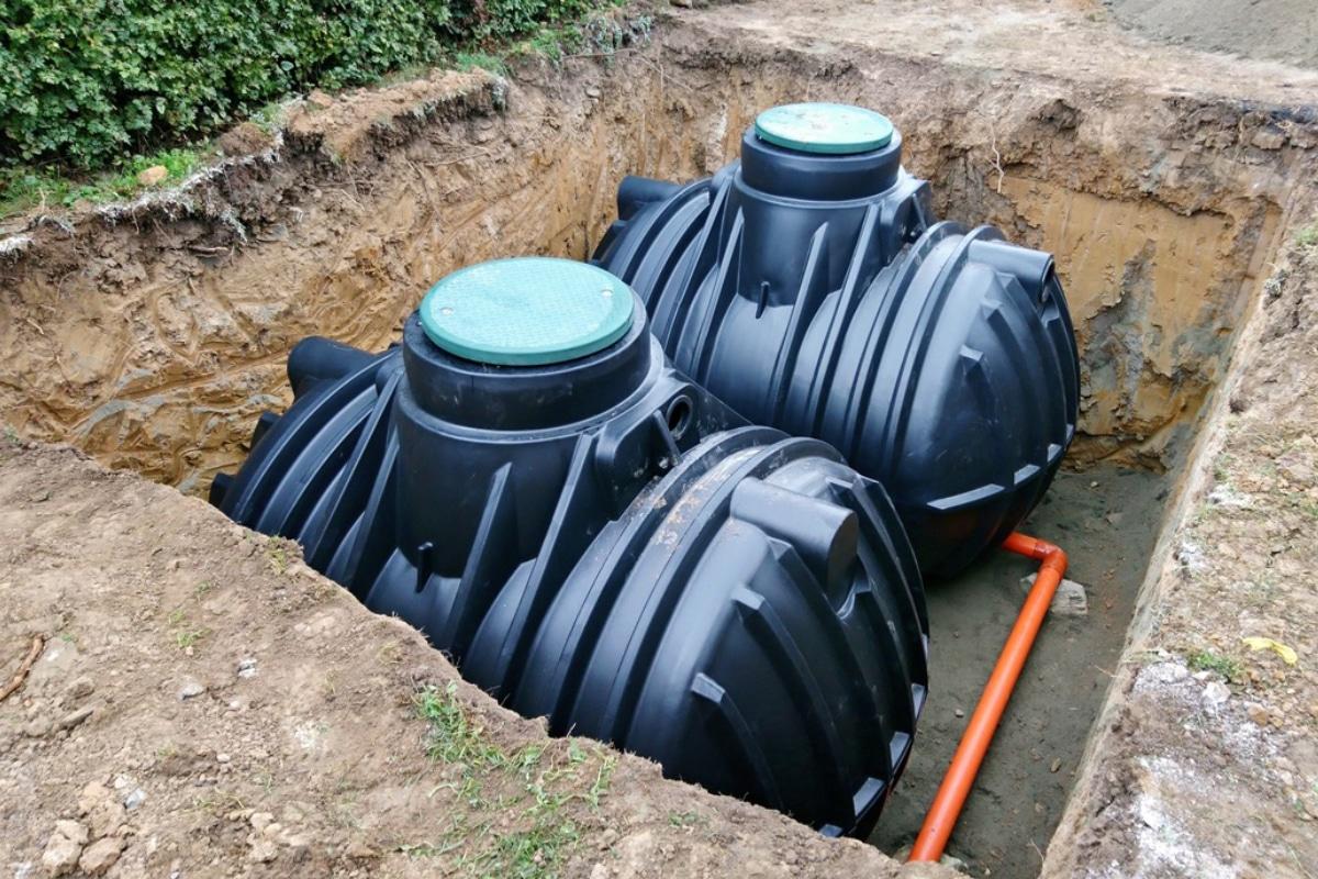 regenwater behandelen in regenwatertank