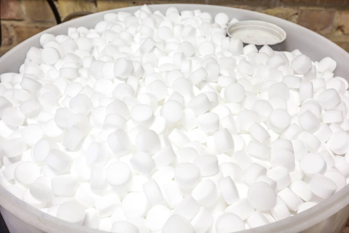 welk zout waterontharder